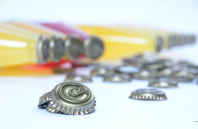 Easy Open Beer Bottle Cap with Ring